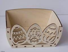 Пасхальный короб для яиц (Узорный)