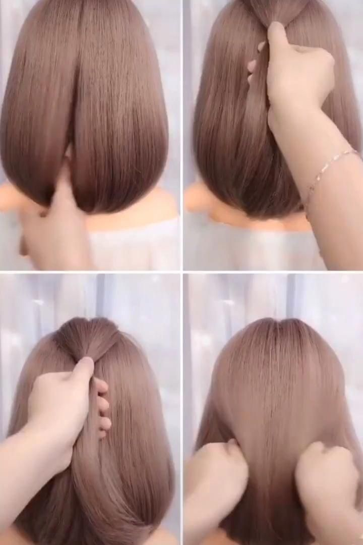 Short Hair Style  #Hair #hairstyle #hairstyles #short #style #ShortHairstyles