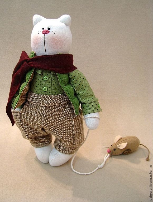мастер кукол ||| doll, plush, stuffed, fabric, felt, bear