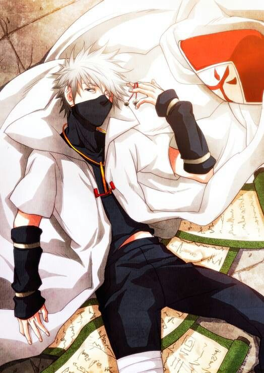 Hatake Kakashi.....I LOVEEEEE this art of Kakashi. Would love to see this done with a real man that looks like him! :D