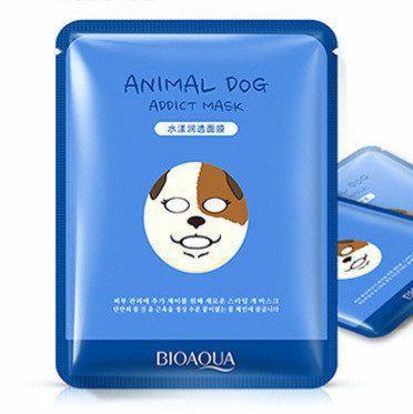 Hydrating Cute Animal Face Mask Sheet Dog