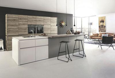 Une cuisine au caractère architectural