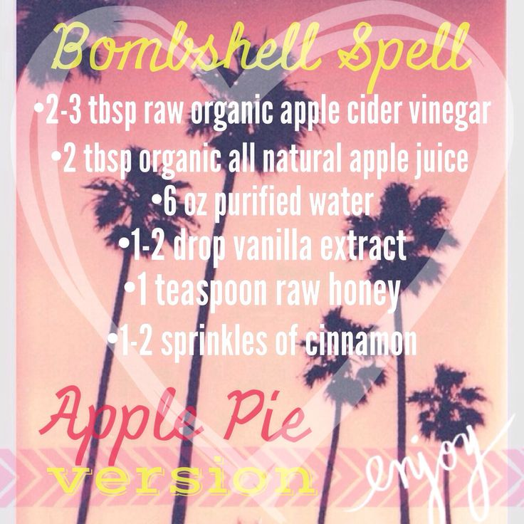 Bombshell spell from tone it up! My apple version :)