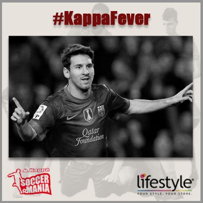 This #Worldcup build your own fantasy team!  Pin the images of the player you want to see in Lifestyle's fantasy football team and suggest a name for the team! We start with Leo Messi, tell us your favourite. Hashtag to be used > #KappaFever