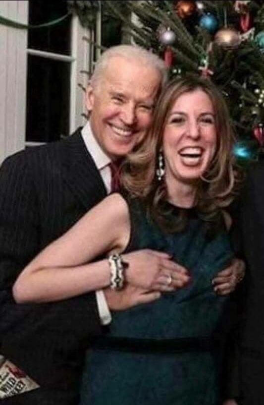 Old creepy Joe at it again.