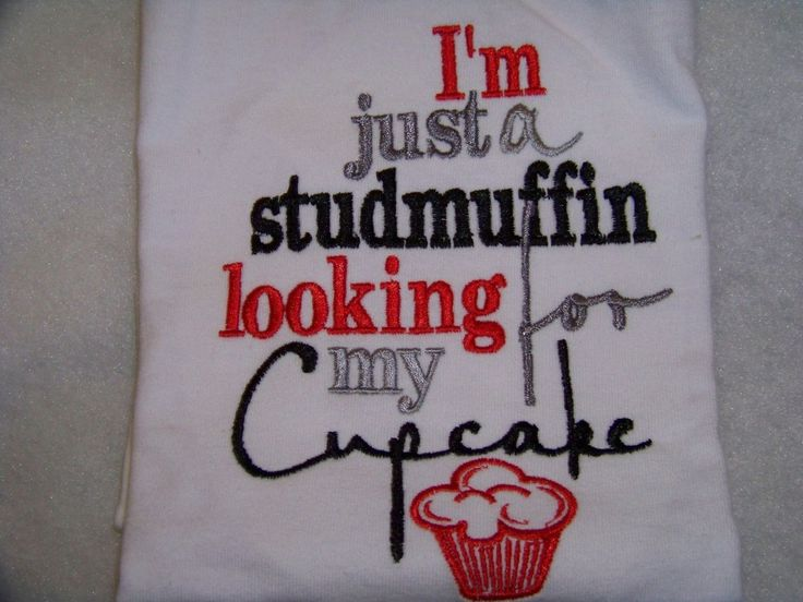 Studmuffin shirt I'm Just a Stud muffin looking for my cupcake shirt boys valentine shirt