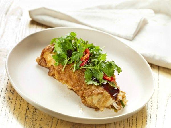 Adam D Sylva - Wok Fried Queensland Spanner Crab Omelette - Farmpride
