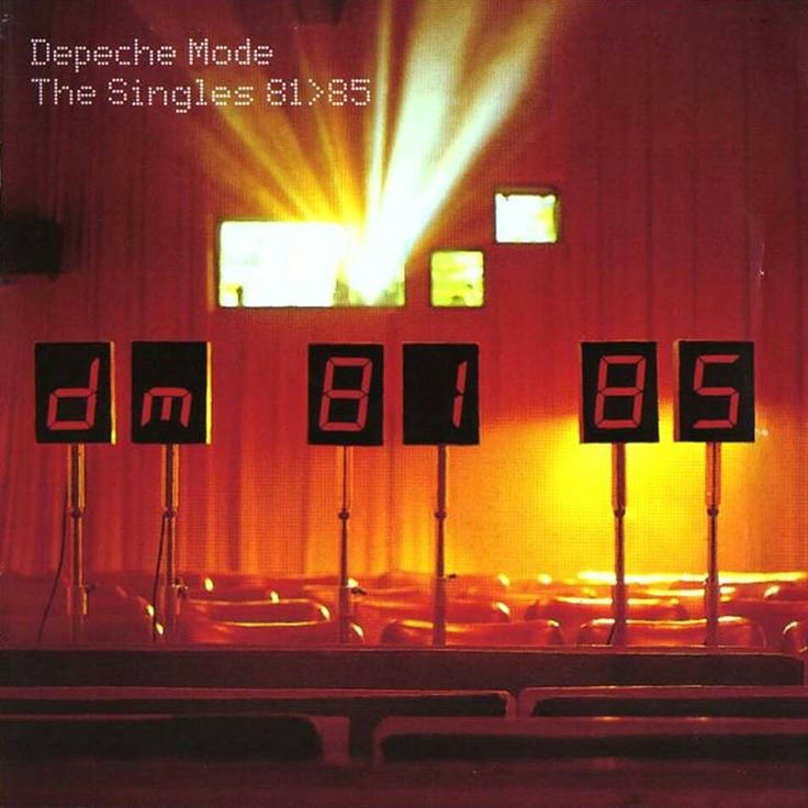 The Peche Mode-The Singles 81-85-1998