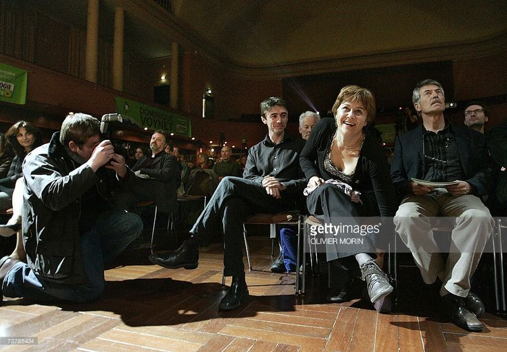 Photo d'actualité : French Green Party presidential candidate...