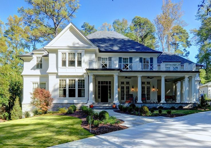 Traditional with shingle style elements