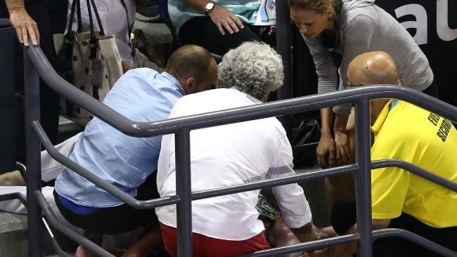 Woman injured, causes delay at Australian Open #AnaIvanovic...: Woman injured, causes delay at Australian Open #AnaIvanovic… #AnaIvanovic