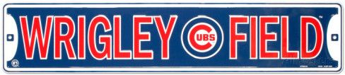 Wrigley Field Tin Sign at AllPosters.com
