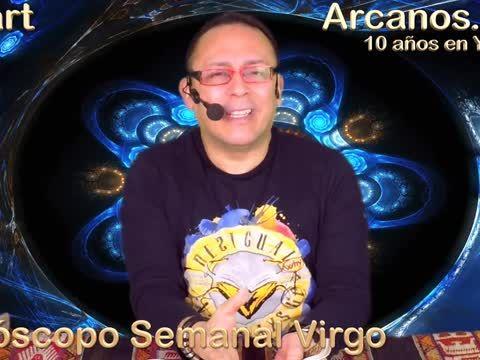 """VIRGO MARZO 2018-10-4 al 10 Mar 2018-Amor Solteros Parejas Dinero Trabajo-ARCANOS.COM<br><br>El Mejor video horóscopo semanal.<br><br>Lectura del Tarot en Español a nivel mundial.<br><br>En un mundo dominado por la incertidumbre...NOSOTROS TENEMOS LA RESPUESTA.<br><a href=""""http://www.Arcanos.com"""" rel=nofollow target=_blank>http://www.Arcanos.com</a><br><br>Horóscopo de Hoy: <a href=""""http://www.arcanos.com/horoscopo-de-hoy-horoscopo-del-dia.asp"""" rel=nofollow…"""