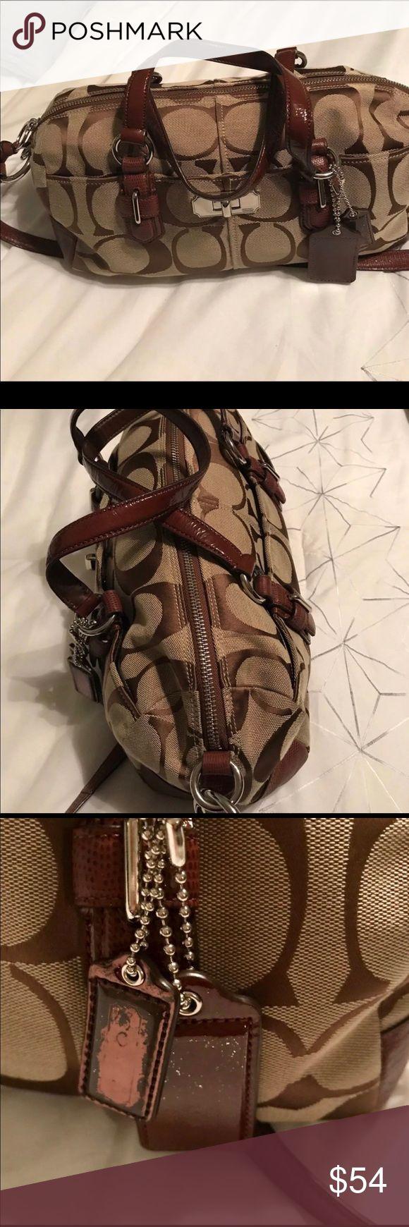 I just added this listing on Poshmark: ❗️SALE ‼️ beautiful coach purse. #shopmycloset #poshmark #fashion #shopping #style #forsale #Coach #Handbags