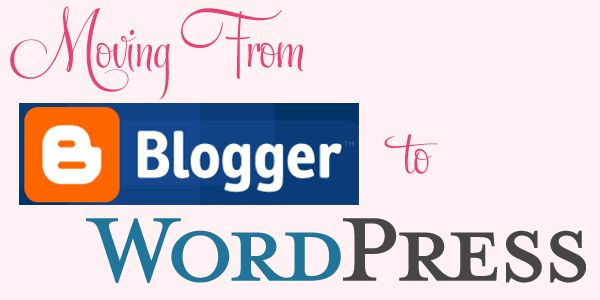 from blogger to wordpress