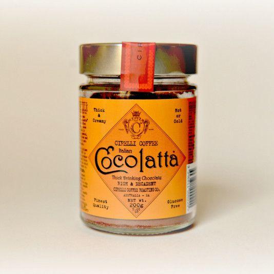 Cirelli Coffee Cocolatta Drinking Chocolate 200gm - The Gram Store