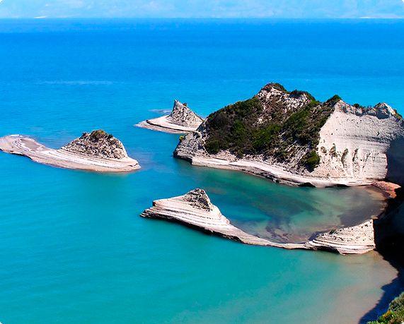 Corfù, Grecia: mare da bere!