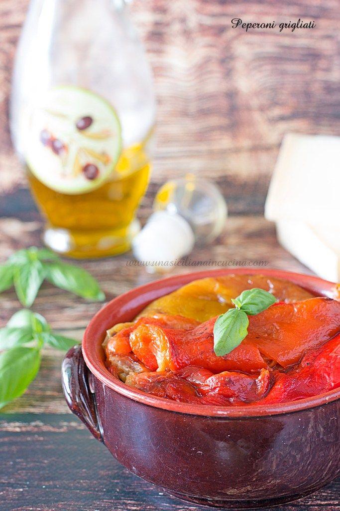 Peperoni grigliati gustosi e digeribili ricette blogger for Tutto cucina ricette