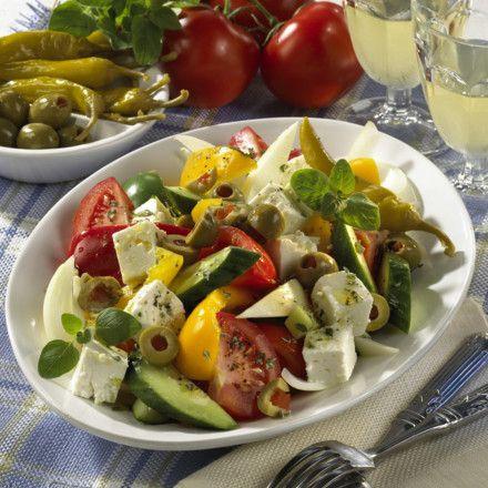 Griechischer Bauernsalat Rezept