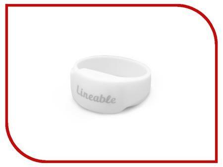 Умный браслет Детский трекер GPS Lineable Smart Band Size L White RWL-100WHLG  — 1951 руб. —
