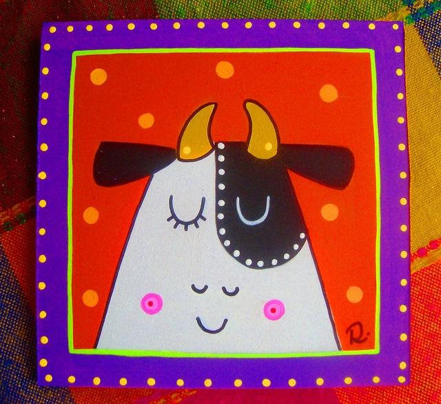 Vaca by rebeca maltos, via Flickr