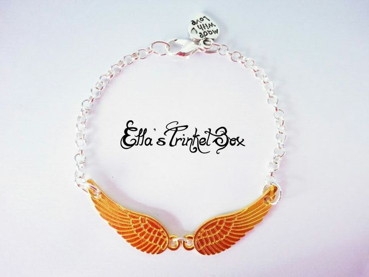 Cute Angel Wings Necklace from Ella's Trinket Box!  ♡ www.facebook.com/EllasTrinketBox