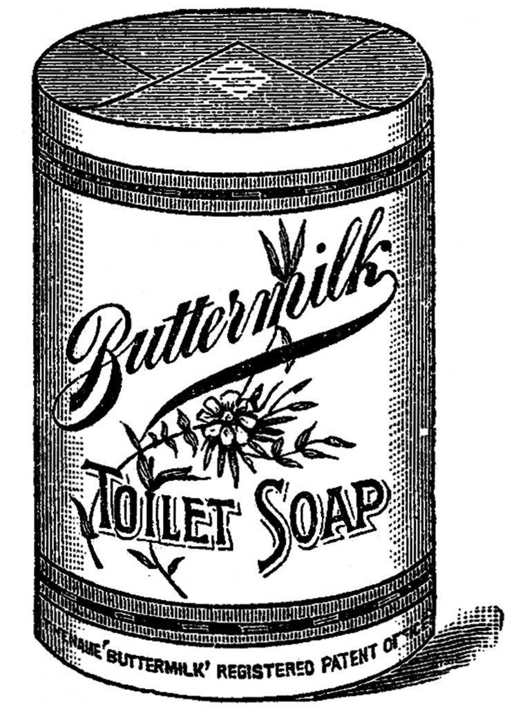 Buttermilk Toilet Soap