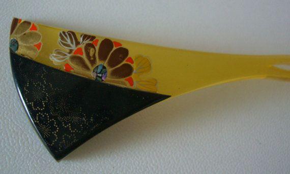 Kanzashi hair pin, traditional Japanese hair accessory for maiko and geisha