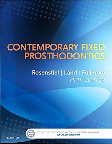 """Contemporary fixed prosthodontics : 5th edition"" / Stephen F. Rosenstiel, Martin F. Land, Junhei Fujimoto. St. Louis, Mo. : Elsevier, cop. 2016. Matèries : Ponts (Odontologia); Corones (Odontologia). #nabibbell"