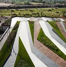 Image result for geometric landscape architecture