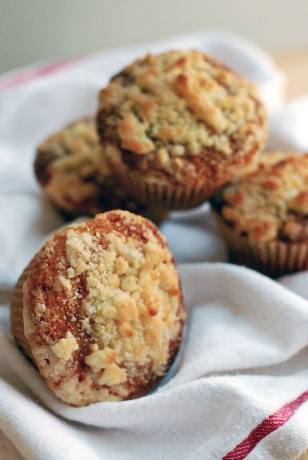 Streusel-Topped Ginger Squash Muffins