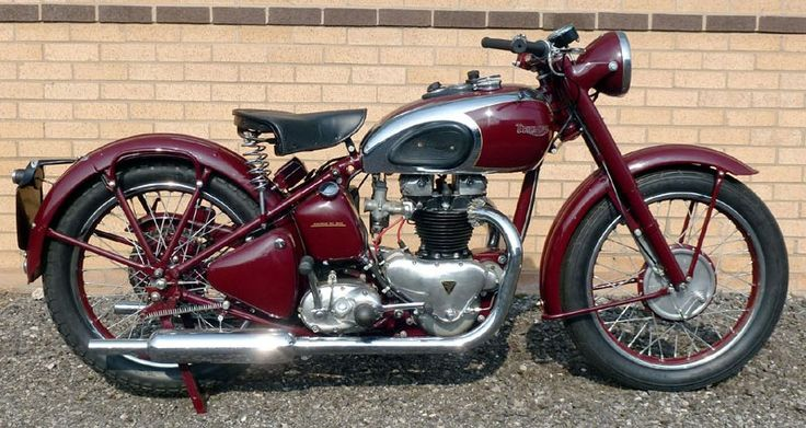 high def images of vintage motorcycles usa made | 132 Years of Triumph Motorcycle History