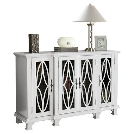 Best You Should See This Block Accent Cabinet In White On Deals 400 x 300