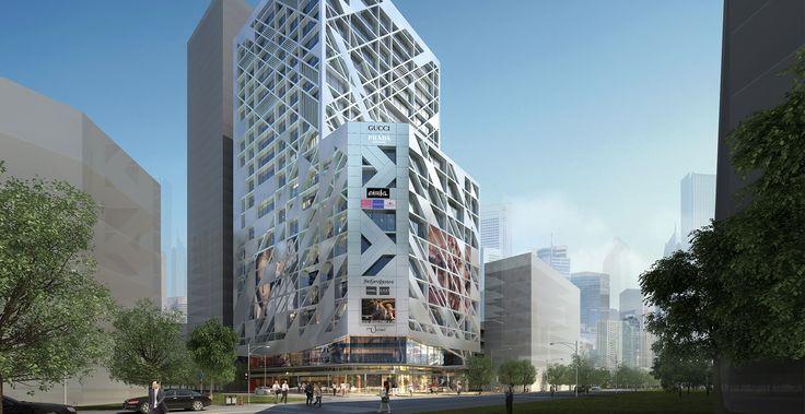 方案 Cheng Du Kingle Qingnien Lu_Office (commercial) http://piu1studio.com.cn/