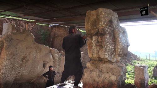 Irak'ta Yağmadan Kurtarılan Sanat Eserleri Venedik Bienali'nde