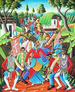 Pour Carline Toussaint, étudiante à la faculté d'ethnologie, le Rara est : «un fait artistique, un théâtre ambulant, un carnaval rural, une manifestation magique et religieuse, qui débute avec le carême». Le rituel se fait en deux temps. La première partie est le mercredi des Cendres avec une cérémonie vouée à l'esprit Legba pour accroître les forces. La deuxième partie est le jeudi saint avec le baptême des objets du groupe suivi d'une tournée de boissons pour tous.