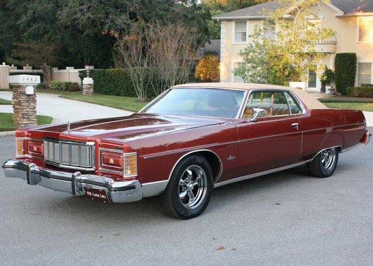 1975 Mercury Marquis   MJC Classic Cars   Pristine Classic Cars For Sale - Locator Service