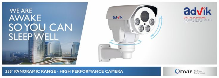 Come explore our range of #PTZCamera at #Secutech 2016! We want to be safe, whether at home, workplace, public place or on road. For all round #Security #Surveillance we need a #Camera that can cover wider distance and is capable of providing clear images even when the objects are moving. The range of pan-tilt-zoom cameras- popularly known as PTZ cameras from #Advik are designed to provide you this security.