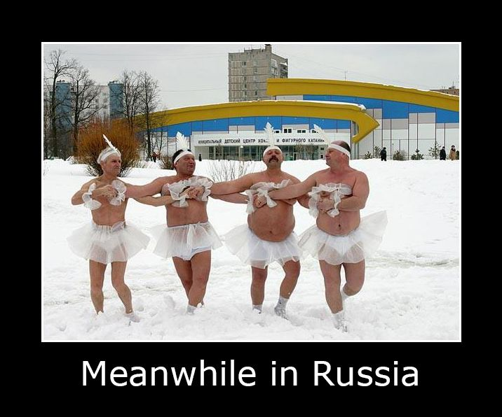 Interesting Pictures Funny: Meanwhile In Russia #MeanwhileinRussia