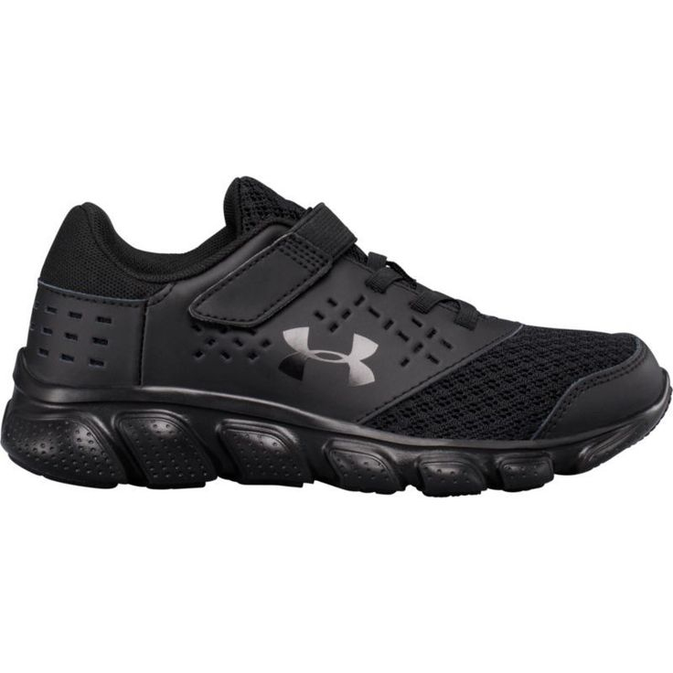 Under Armour Kids' Preschool Rave RN AC Running Shoes, Girl's, Black