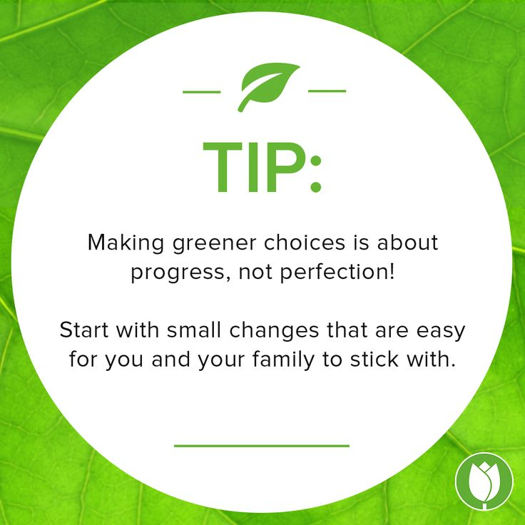 Happy #EarthMonth! How do you make greener choices?