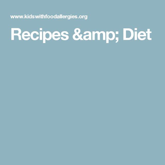 Recipes & Diet