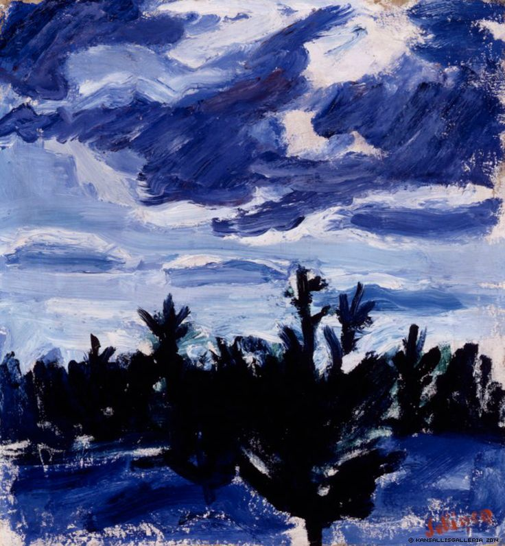 TYKO SALLINEN Early Spring (1914)