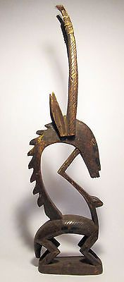 Authentic-Old-Bamana-Chi-Wara-Antelope-headdress-Fine-African-Tribal-Art