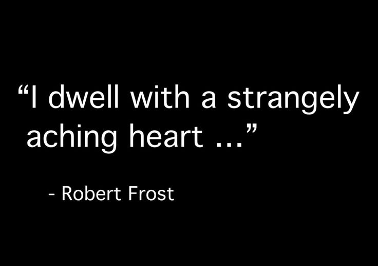 Robert Frost, from 'Ghost House'
