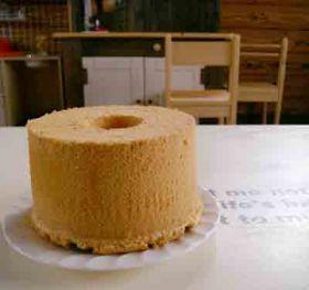 「簡単ふわふわシフォン/20cm」hmg | お菓子・パンのレシピや作り方【corecle*コレクル】