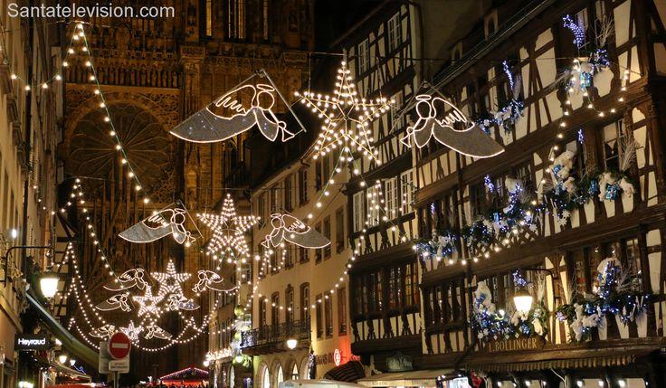 Рождественские огни в Страсбурге, Франция