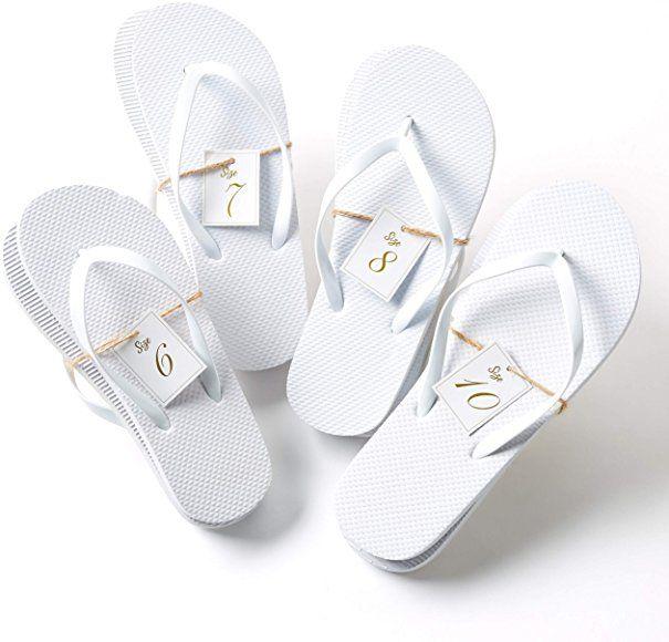 Amazon Com Bulk Flip Flops For Wedding Guest 52 Pack White Wholesale Flip Flop Sandals T In 2020 Bulk Flip Flops Wedding Flip Flops Wedding Flip Flops For Guests