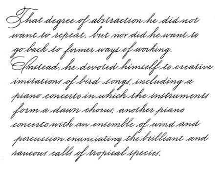 standard business writing fonts