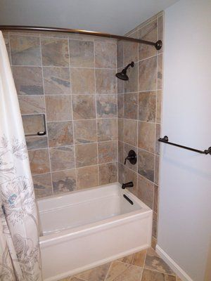 tiled tub surrounds   tiled tub surround   Bath ideas ...